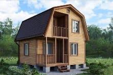 Как сделать теплый каркасный дом