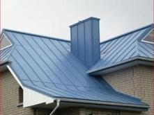 железная крыша дома